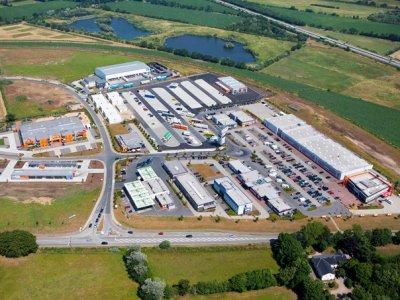 Bosch eröffnet Secure Truck Parking an der Grenze