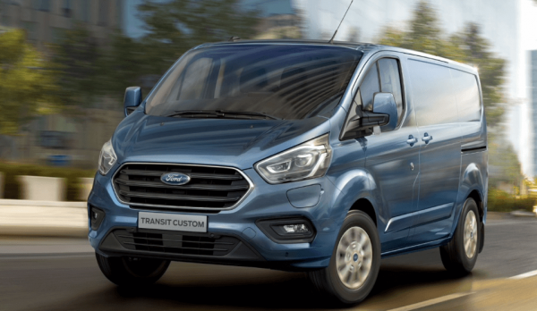 First delivery van with a plug-in hybrid drive