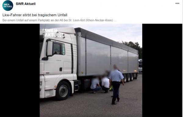Tragedija Vokietijoje: žuvo vairuotojas iš Lietuvos. Ratas nukrito nuo sunkvežimio ir vietoje užmušė