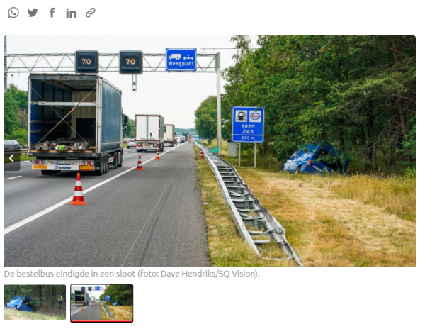 Dvi sėkmingos Nyderlandų policijos operacijos. Krovinių vagys sugauti po gaudynių