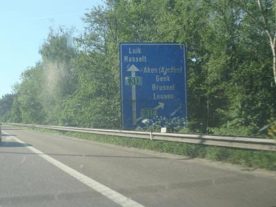 Sunkumai svarbiame maršrute Belgijoje. Jie truks daugiau nei 2 mėnesius