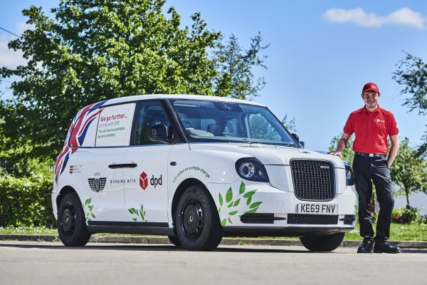 DPD teams up with iconic London EV Company for testing ahead of van launch