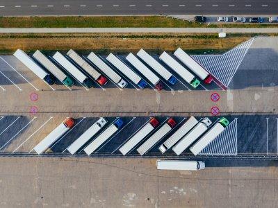 Transportator german pasibil de sancțiuni pentru alegerea incorectă a unei parcări