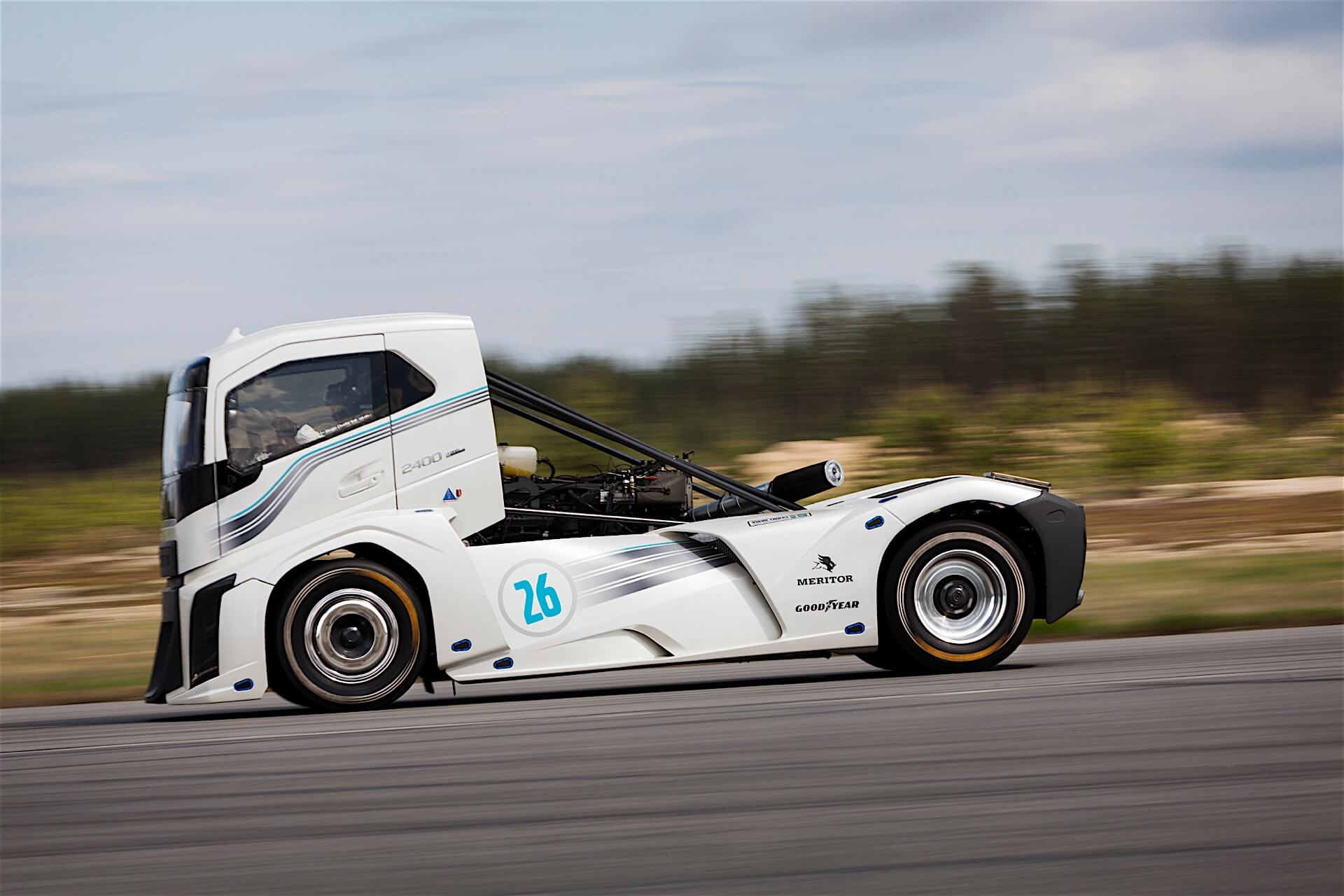 Is the Volvo Iron Knight still the fastest truck in the world?
