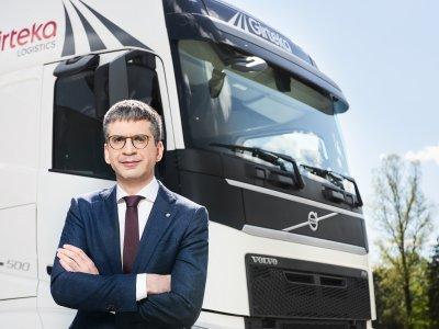 Girteka Logistics verändert ihre Organisationsstruktur. Die Tätigkeit wird sie in einer neuen Gesellschaft konzentrieren.