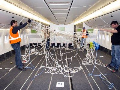 Fluggesellschaften haben 2020 insgesamt 155 Passagierflugzeuge in Frachtflugzeuge umfunktioniert