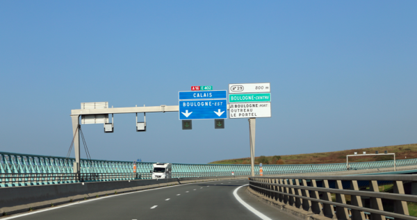 Roadworks near Calais: diversions in place on A216