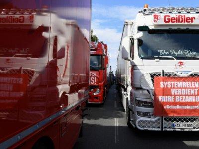 Germania | Nou protest la Berlin: Transportatorii locali cer suspendarea cabotajului