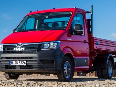 Napęd na wszystkie koła dostępny w lekkich ciężarówkach MAN-a do 5,5 tony