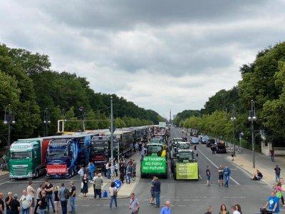 Berlin: Lkw-Fahrer protestieren gegen Dumpingpreise und unfairen Wettbewerb. Ist temporäre Aussetzung der Kabotage möglich?