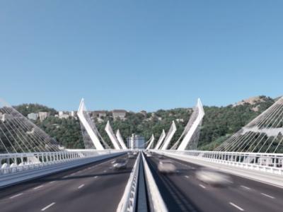 [Video] Test de stres efectuat pe Podul Morandi din Genoa cu 50 de camioane