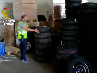 Hiszpanie rozbili kolejną szajkę złodziei ładunków. Gwardia Cywilna odzyskała łupy o wartości ponad 1 mln euro