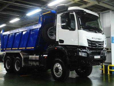 КАМАЗ приступил к сборке нового продукта семейства К5 – самосвала КАМАЗ-6595