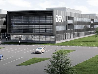 A DSV Európa legnagyobb logisztikai központját építi Dániában 700.000 négyzetméteren