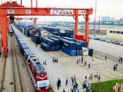 Количество поездов Китай – Европа впервые превысило 5 тысяч составов за полугодие