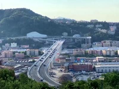 Italien: Stresstest für die riesige Morandi-Brücke in Genua [Video]