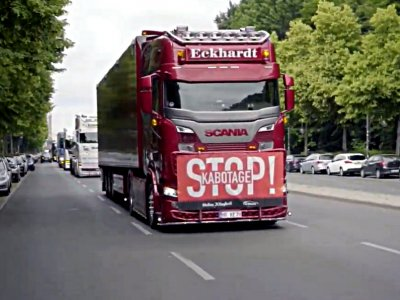 Niemieccy przewoźnicy protestują przeciwko dumpingowym cenom i nieuczciwej konkurencji. Doprowadzą do zawieszenia kabotażu?