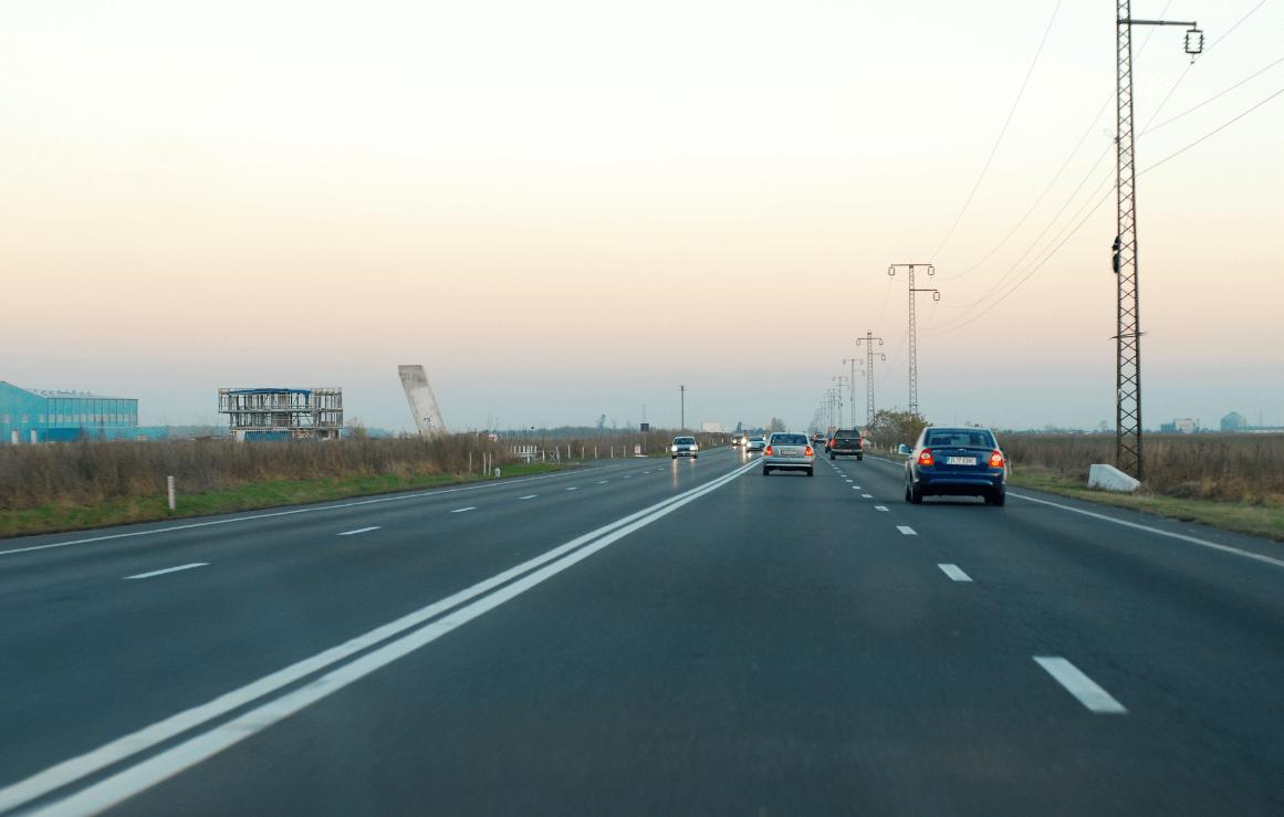 Restricții de circulație pe DN1