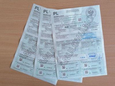 Отсутствие действующих транспортных разрешений в Польше. Какое наказание за это грозит?