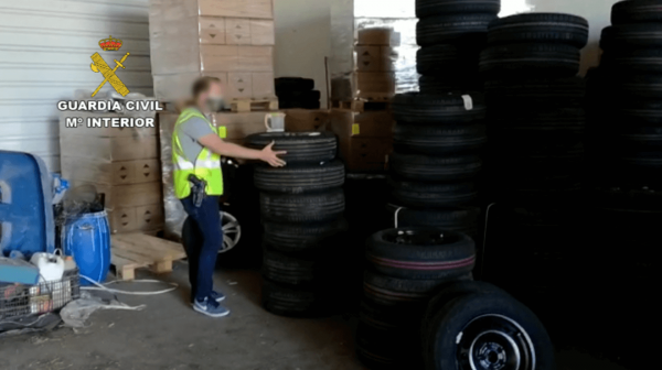 Another gang of cargo thieves cracked in Spain. Goods worth over €1 million recovered by the Civil G