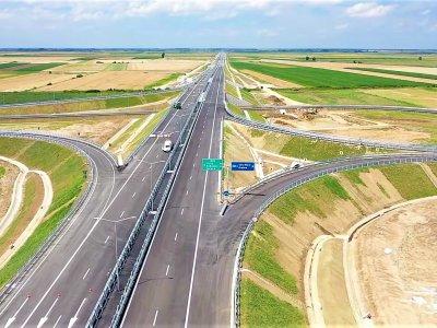 Infrastructură | [Video] Am vizitat mini-lotul de 5,35 km din Autostrada A3 de la granița cu Ungaria