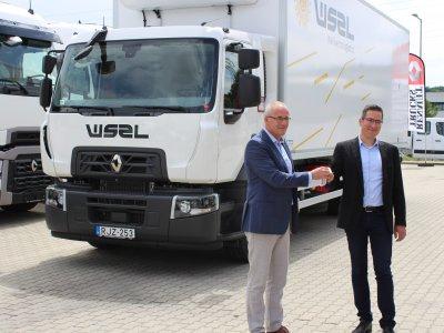 A WSZL újabb 5 Renault teherautóval bővítette flottáját