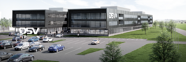 DSV is building Europe's largest logistics centre in Denmark on 700,000 square meters
