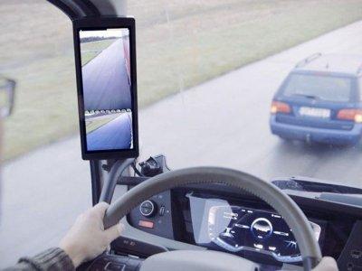 Ein weiterer LKW-Hersteller will LKW ohne Außenspiegel auf den Markt bringen