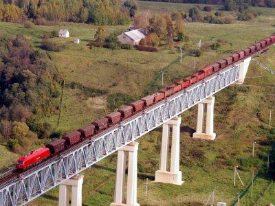 Новая железнодорожная грузовая ветка в Литве. Магистраль будет использоваться для поездов, следующих в Клайпедский порт