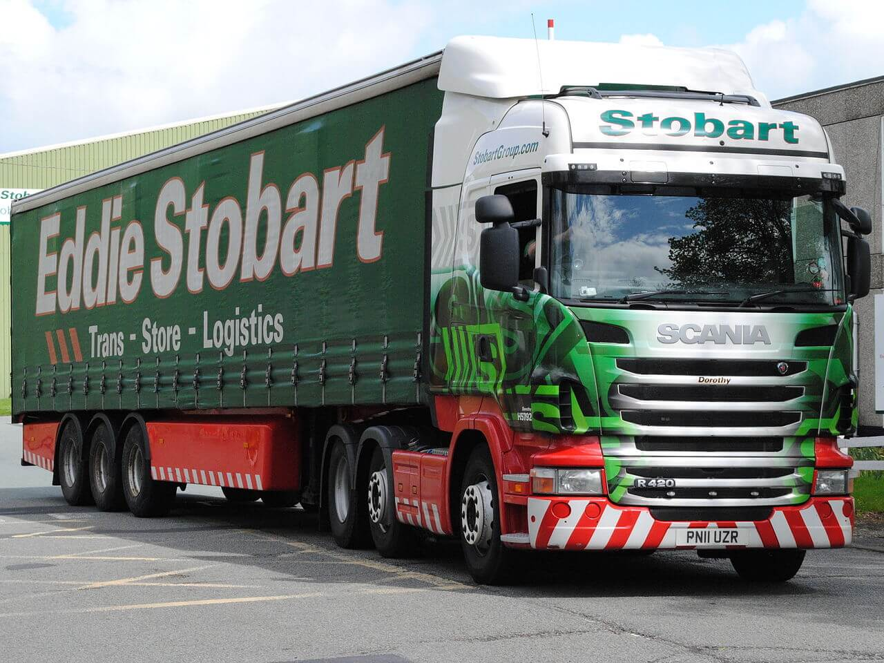 Eddie Stobart drivers to decide on strike action next week