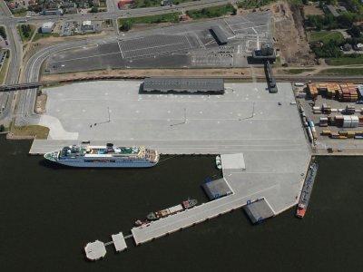 Po rekonstrukcijos Centriniame Klaipėdos terminale galės atplaukti didesni laivai