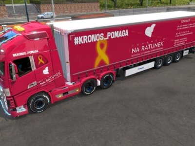 Przejadą ciężarówkami 30 tys. km, by pomóc dzieciom. Możesz się dołączyć, bo jadą… online
