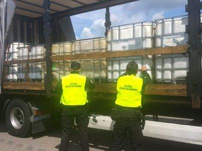 За отсутствие товара в системе SENT – водителю 1700 евро, перевозчику – 4500 евро штрафа и уголовное дело