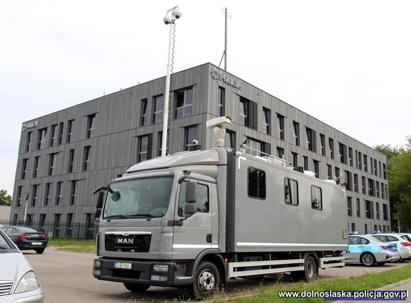 specjalistyczna ciężarówka