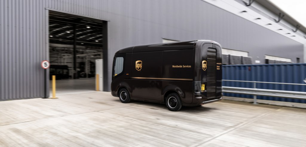 Meet Arrival, the purpose-built electric UPS van