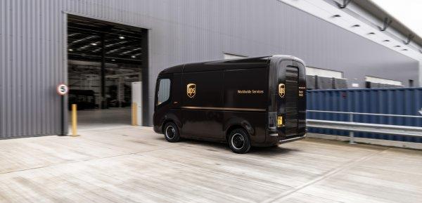 Meet Arrival, the purpose-built electric UPS van