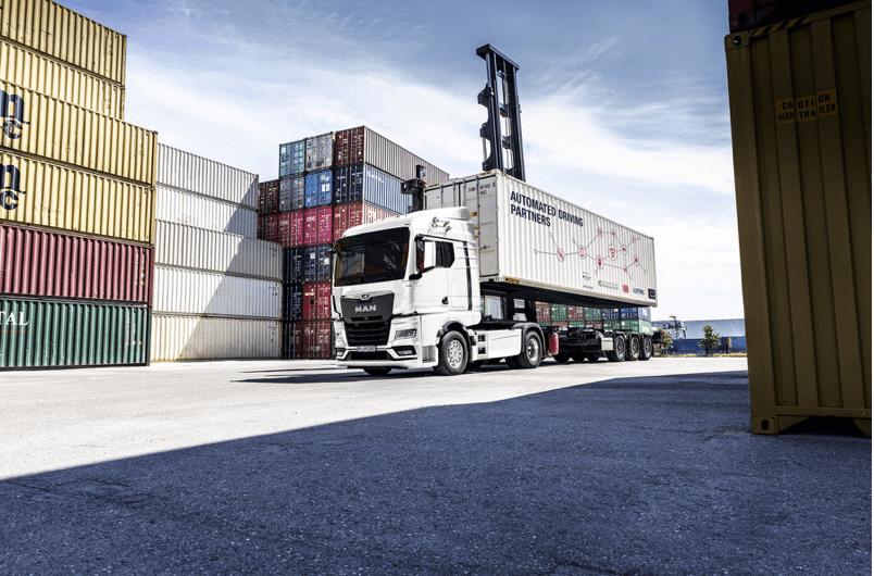 ANITA odmieni przeładunki kontenerów w Niemczech? Celem jest zautomatyzowana ciężarówka