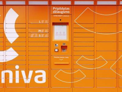 """""""Omniva"""" planuoja paštomatų tinklą šiemet išplėsti dešimtadaliu"""
