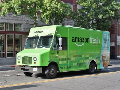 Amazon has introduced free grocery delivery in London with 2-hour-windows and same-day delivery. Who can compete?