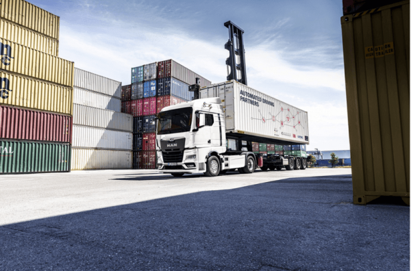 Az ANITA megváltoztatja a konténerek átrakodását Németországban? A cél az automatizált teherautó