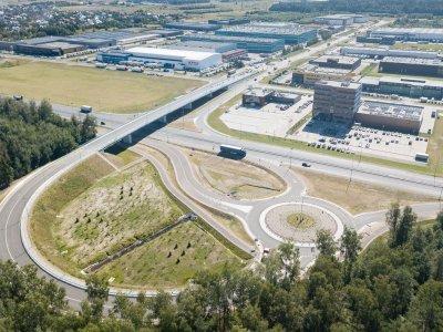 Atidarytas magistralės A6 Kaunas–Zarasai–Daugpilis viadukas