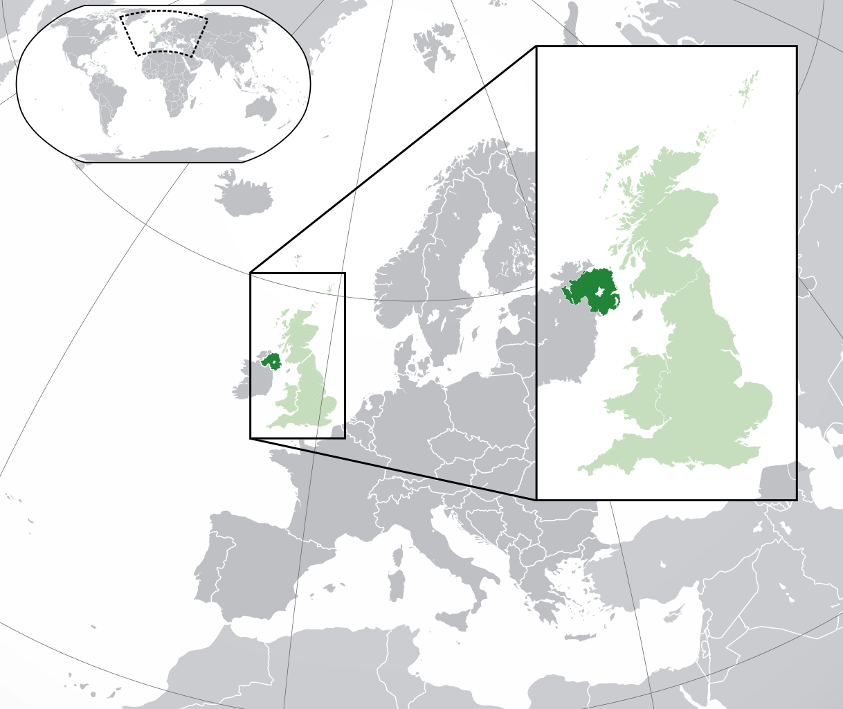 Route 5: shipping from Ireland to Great Britain via Northern Ireland. Export and import processes after Brexit