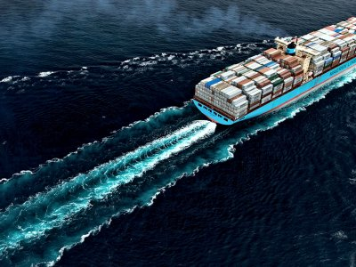 """""""Maersk"""" pranešė apie rekordinį uždarbį pirmąjį šių metų ketvirtį"""