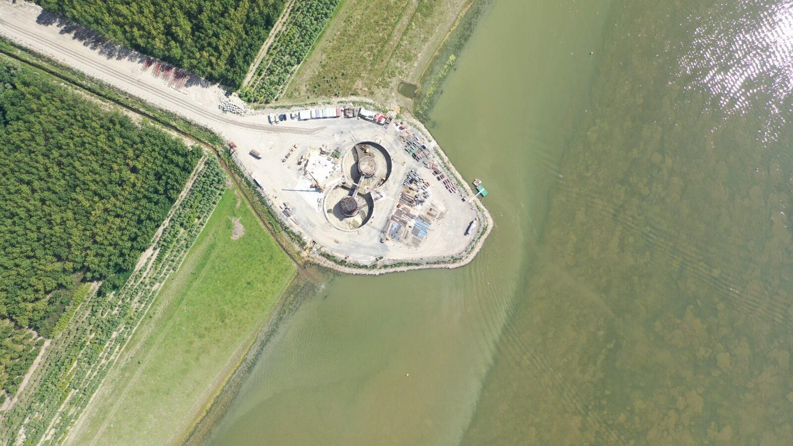 Infrastructură | Podul peste Dunăre de la Brăila avansează în ritm alert
