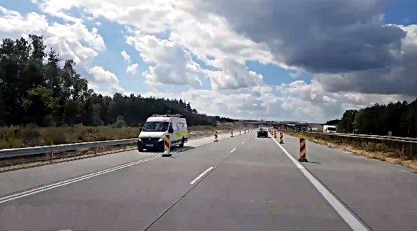 Ruch wpuszczony na nową jezdnię A1
