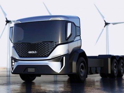 """Milžiniškas užsakymas """"Nikolai"""". Įmonė pagamins mažiausiai 2500 elektrinių sunkvežimių vienam klientui"""