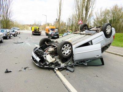 Штрафы для водителей, снимающих место ДТП на нидерландской автомагистрали