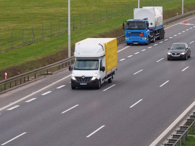New ban on light transport in France starting today. It's about rest periods for drivers