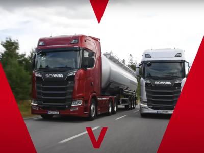 Premieră Scania | Noul V8 are acum cel mai puternic motor de pe piață