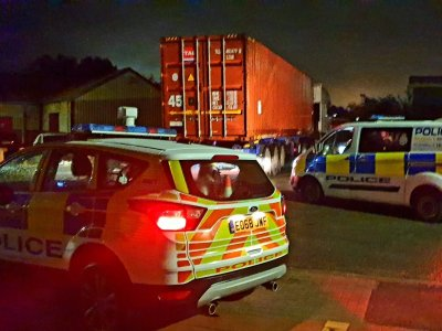 """2 stolen lorries and """"some"""" whisky worth of £100,000: nice catch by the British police"""